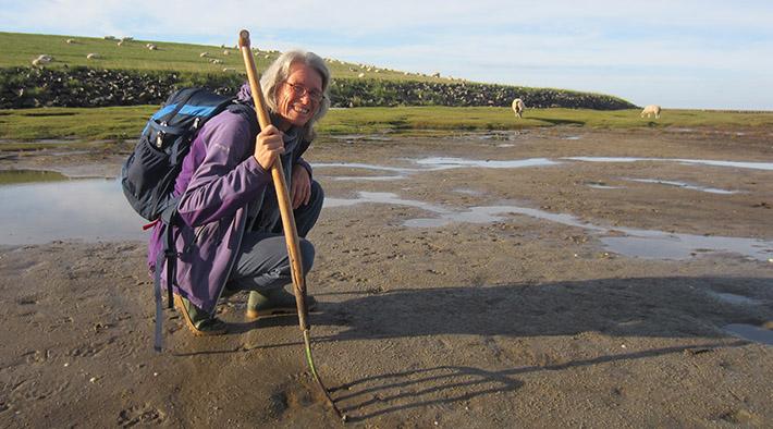 Watt erleben mit Nationalpark-Wattführerin Doris Nebel