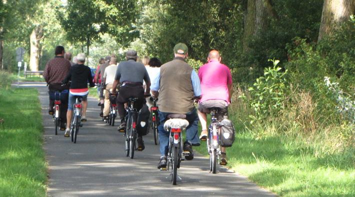 Fahrradtouren und Wanderungen zu Eiderstedts Schätzen
