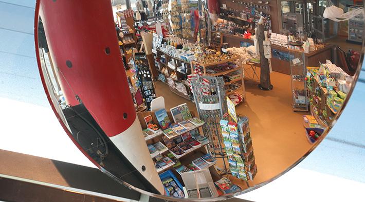 Der Shop  im Erlebniszentrum Naturgewalten Sylt