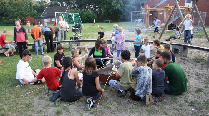 Gruppenunterkunft für Groß und Klein