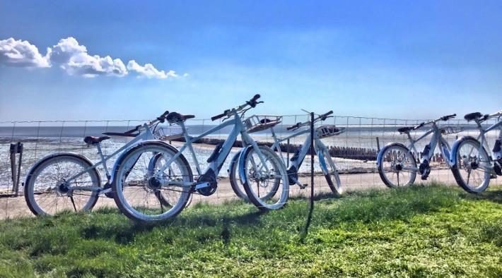 Fahrradparadies am Nationalpark Wattenmeer