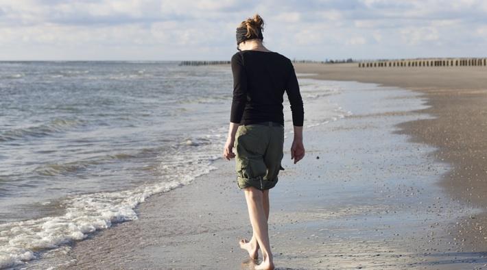 Frische Seeluft atmen, direkt am Wattenmeer