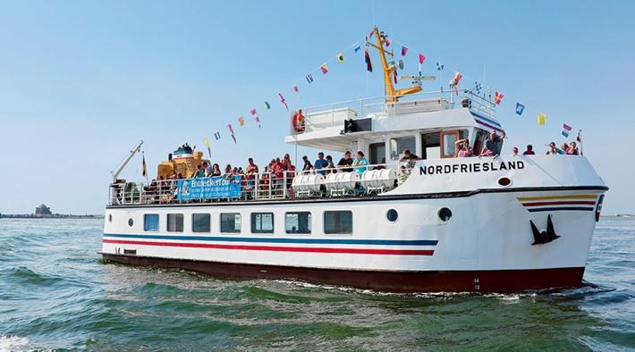 """Ausflugsschiff MS """"NORDFRIESLAND"""""""