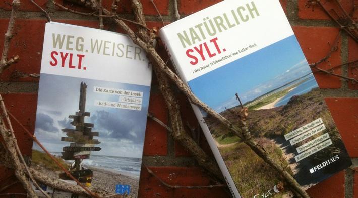 """Natur-Erlebnisführer """"NATÜRLICHSylt"""" & Inselkarte """"Wegweiser Sylt"""""""